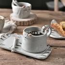貓爪杯象有秘密日式陶瓷馬克杯水杯貓咪咖啡杯帶貓爪攪拌棒可愛情侶杯子『獨家』流行館