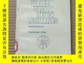 二手書博民逛書店advanced罕見logical circuit design techniques(P664)Y17341