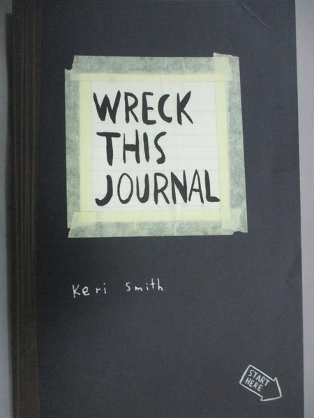 【書寶二手書T9/原文書_HFB】Wreck This Journal-To Create Is to Destroy_