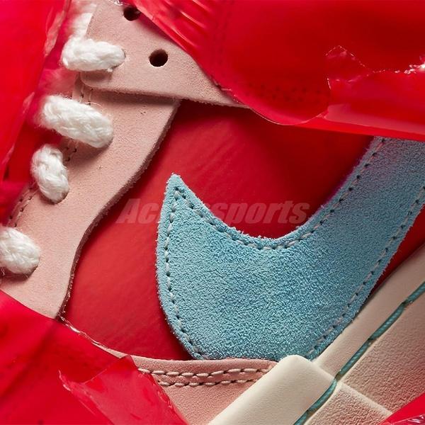 Nike 休閒鞋 Wmns Dunk Low Disrupt 粉紅 藍 爆竹 CNY 新年 女鞋【ACS】 DD8478-641