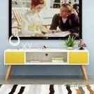 北歐液晶電視櫃簡約現代小戶型多功能客廳儲物櫃臥室電視機櫃地櫃MBS「時尚彩虹屋」