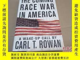 二手書博民逛書店the罕見coming race war in america