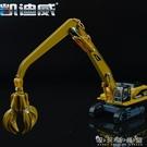 凱迪威625010合金工程車模型1:87合金物料處理車原廠仿真汽車禮物 晴天時尚