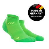 CEP 超輕量-運動壓縮踝襪-螢光綠 ( 男/女 )WP4AGD/WP5AGD