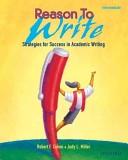 二手書博民逛書店《Reason to Write: Strategies for Success in Academic Writing》 R2Y ISBN:0194367738