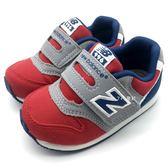 《7+1童鞋》小童 New Balance  FS996RG  魔鬼氈 休閒 慢跑鞋 運動鞋 9408  紅色