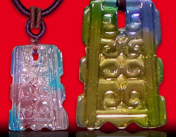 鹿港窯~居家開運水晶琉璃項鍊~古龍紋 附精美包裝 ◆免運費送到家◆