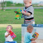 寶寶布書 LALABABY/拉拉布書 響紙 寶寶 小布書嬰兒玩具 早教 撕不爛手掌書 芭蕾朵朵