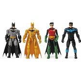 DC Batman-4吋蝙蝠俠可動人偶 (混裝) 玩具反斗城