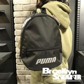 PUMA 黑白 Logo 小包  後背包 (布魯克林) 2019/1月 07571301