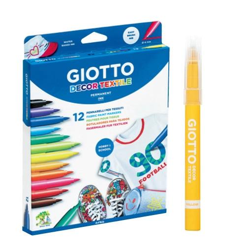 【義大利 GIOTTO】衣物彩繪筆(12色) ★產地:義大利