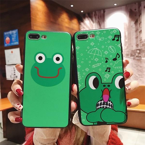 【SZ14】青蛙手機殼 iphone XS MAX手機殼 iphone XR XS手機殼 iphone 8plus手機殼 iphone 6s plus手機殼