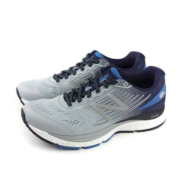 NEW BALANCE 880系列 運動鞋 跑鞋 灰/藍色 男鞋 超寬楦 M880SB8-4E no532