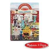 【美國瑪莉莎Melissa & Doug】泡泡貼紙簿-職業變裝 #MD9426