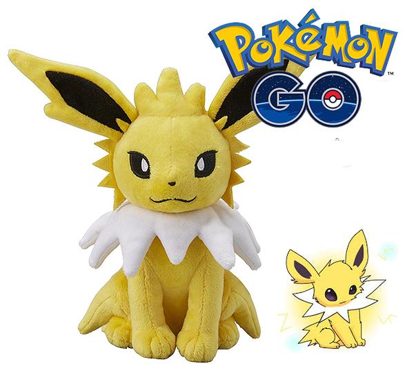 雷精靈 絨毛玩偶 Pokemon 寶可夢 神奇寶貝 日本正品 S號娃娃 該該貝比日本精品 ☆