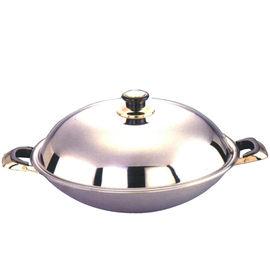 《仙德曼》七層複合金炒鍋-雙耳 /42cm