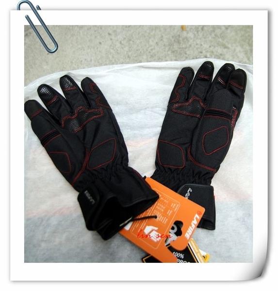 LAFIRE手套,冬季手套,狙擊手/黑紅