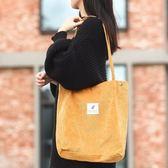 手提帆布包布袋子女韓版學生單肩手提袋大容量環保袋購物袋