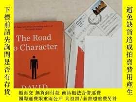 二手書博民逛書店The罕見Road to Character(品格之路)Y254864 David Brooks Random