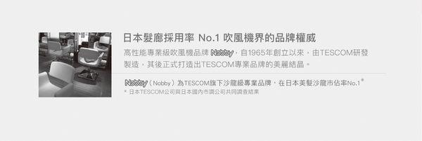 【TESCOM】遠紅外線大風量負離子吹風機 TID450TW