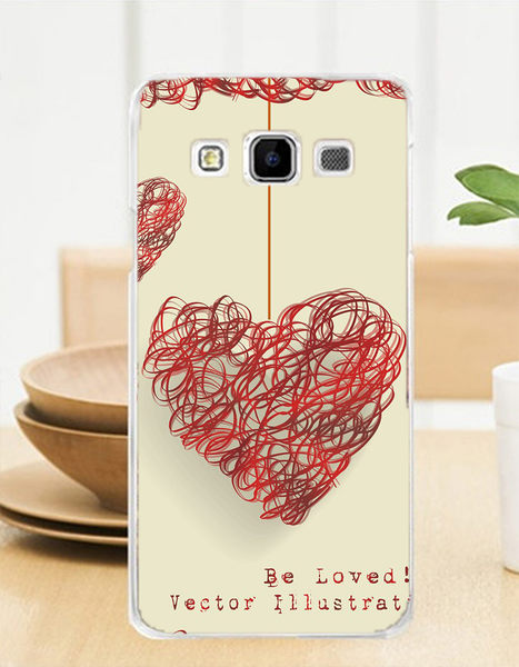 ♥ 俏魔女美人館 ♥ Samsung Galaxy J3 {到掛愛心}-水晶硬殼 手機殼 手機套 保護殼 保護套
