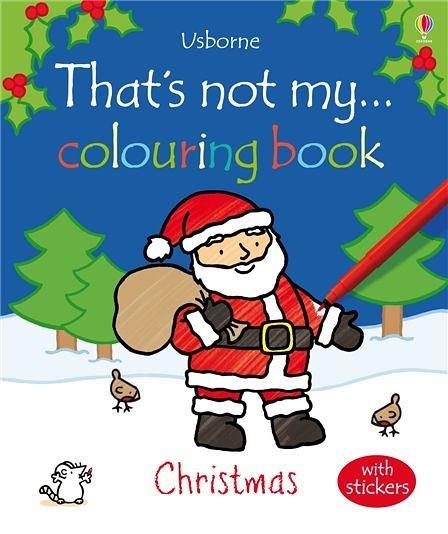 That's Not My... Colouring Book:Christmas 那不是我的系列著色書-耶誕節篇