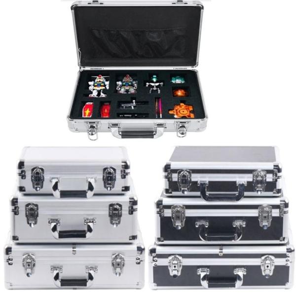 小手提式工具箱鋁合金多功能箱子定做儀器設備文件收納盒密碼帶鎖 南風小鋪