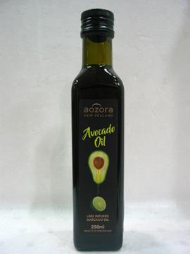 紐西蘭100%純淨特級初榨冷壓酪梨油(萊姆風味)250ml/罐