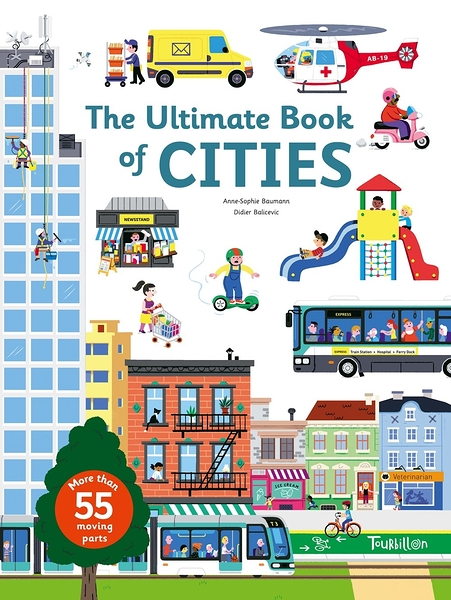 【探索城市操作書】THE ULTIMATE BOOK OF CITIES  /精裝操作書
