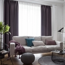 窗簾 簡約現代遮陽隔熱窗簾布定制客廳臥室陽臺落地飄窗全遮光窗簾成品