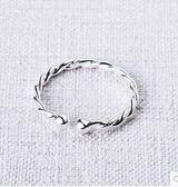 韓版流行個性編織纏繞開口戒指LVV1286【KIKIKOKO】
