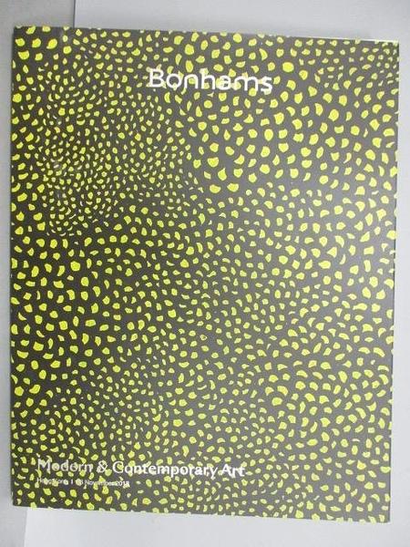 【書寶二手書T9/收藏_FOP】Bonhams_Modern&Contemporary Art_2018/11/26