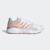 Adidas Crazychaos [FW5724] 女鞋 運動 休閒 慢跑 復古 經典 透氣 輕量 穿搭 愛迪達 白粉