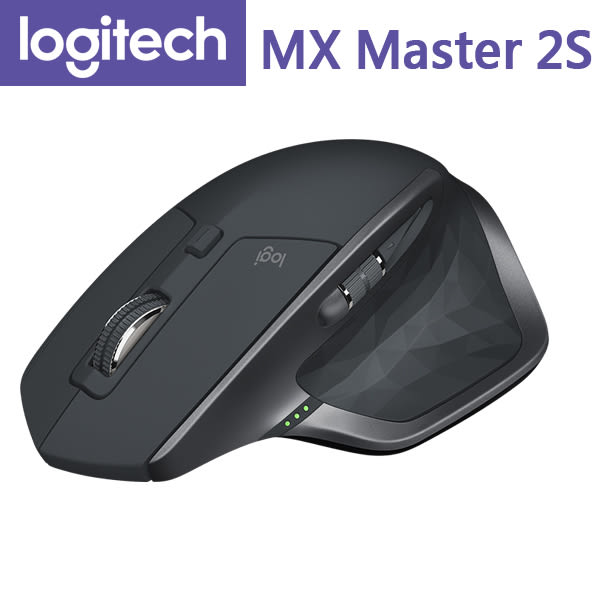 【免運費】Logitech 羅技 MX Master 2S 無線滑鼠 / 2.4GHz & 藍芽 / 羅技Flow跨電腦控制技術
