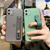 蘋果 iPhone 11 Pro Max 11 Pro 腕帶支架殼 手機殼 全包邊 矽膠 軟殼 手帶 保護殼