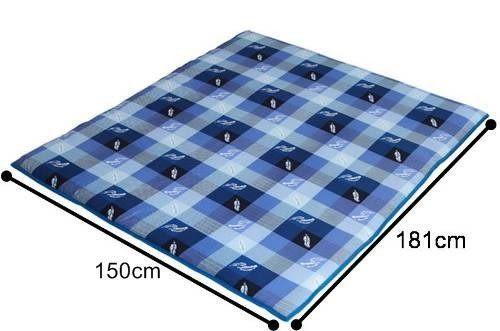 《家購網寢俱館》星辰系列-簡約兩用折疊床墊-雙人