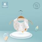 口水巾 aqpa兒童防水口水巾男女寶寶薄款圍兜嬰幼兒純棉飯兜防臟 寶貝計畫 618狂歡