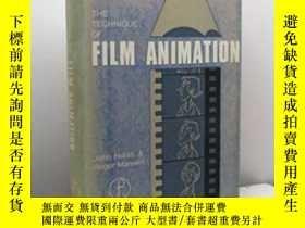 二手書博民逛書店The罕見Technique Of Film Animation (library Of Communicatio