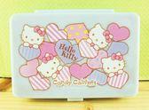 【震撼  】Hello Kitty 凱蒂貓KITTY 飾品盒附鏡藍心