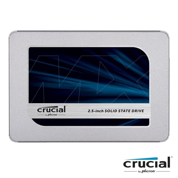 【外包裝受損】 美光Micron Crucial MX500 500G SSD SATAⅢ 固態硬碟 2.5