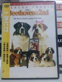 影音專賣店-G17-026-正版DVD*電影【我家也有貝多芬2-一家六口】-冒牌總統-查理士高登*綠色奇蹟-鮑