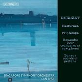 【停看聽音響唱片】【SACD】德布西:夜曲等管弦樂作品 水藍 指揮 新加坡交響樂團