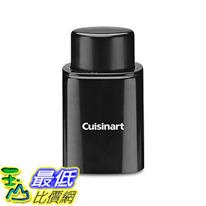 [美國直購] Cuisinart CWO-50 紅酒葡萄酒 開瓶器 密封器 Cordless Wine Opener with Vacuum Sealer