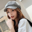 帽子女韓版潮網紅款貝雷帽英倫複古畫家帽秋冬韓版日系八角帽