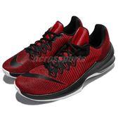 【六折特賣】Nike 籃球鞋 Air Max Infuriate 2 Low EP 紅 黑 低筒 運動鞋 氣墊 男鞋【PUMP306】 908977-600
