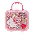 《Sanrio》HELLO KITTY可愛印章組附寶石風提盒(元氣小物)★funbox生活用品★_769843N