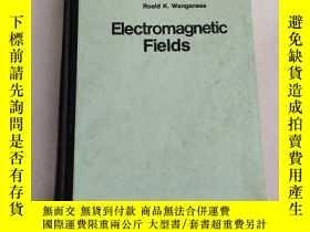 二手書博民逛書店Electromagnetic罕見Fields 電磁場(英文,16開精裝)館藏 沒勾畫Y6318 Roald