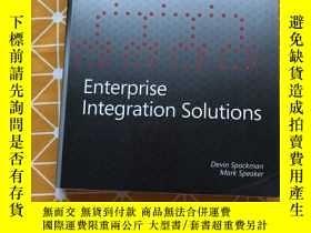 二手書博民逛書店Enterprise罕見Integration SolutionsY236528 Enterprise Int