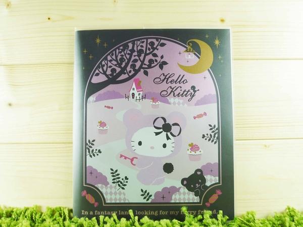 【震撼精品百貨】Hello Kitty 凱蒂貓~信籤組附袋~紫熊熊~黑【共1款】