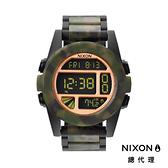 NIXON UNIT 運動玩家電子錶 迷彩 潮人裝備 潮人態度 禮物首選